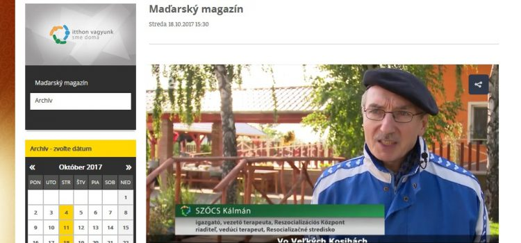 Maďarský magazín na RTVS