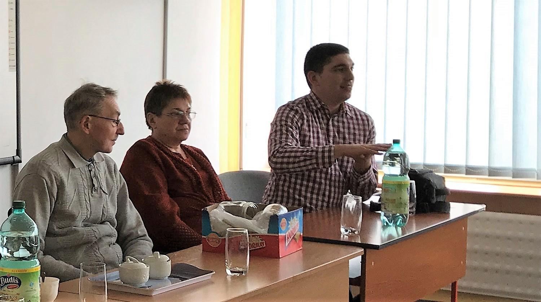 A Reménység alapítói Szőcs Kálmán és felesége Szőcs Gizella, valamint fiuk és munkatársuk Szőcs Dávid – foto/Kučera Dárius